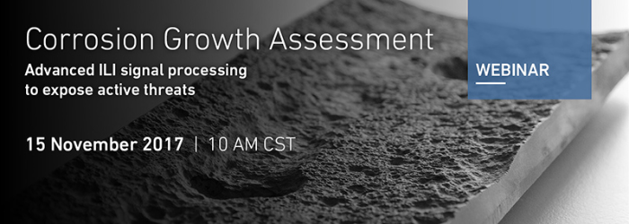Image Webinar: Corrosion Growth Assessment