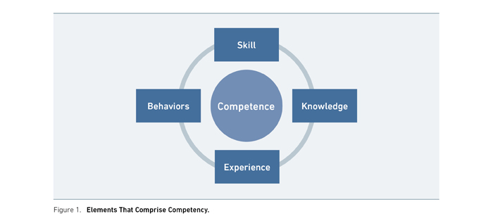 Figure 1: Elements That Comprise Competency