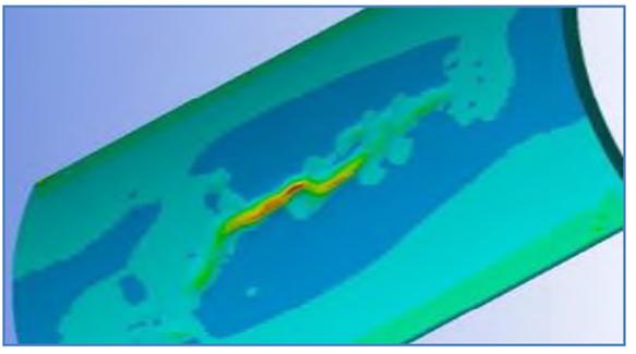 Figure 9 – VDU Output Nature – 3D Result