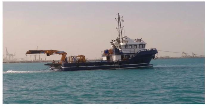 Figure 4: Multi-purpose utility vessel