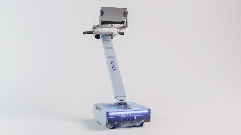 Figure 1 – Our latest floor scanner, the TBIT Ultra